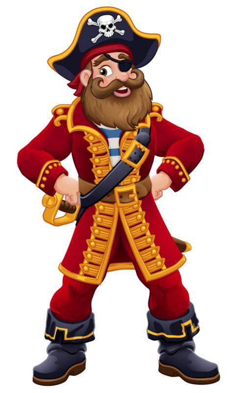 Pirate entier dessin